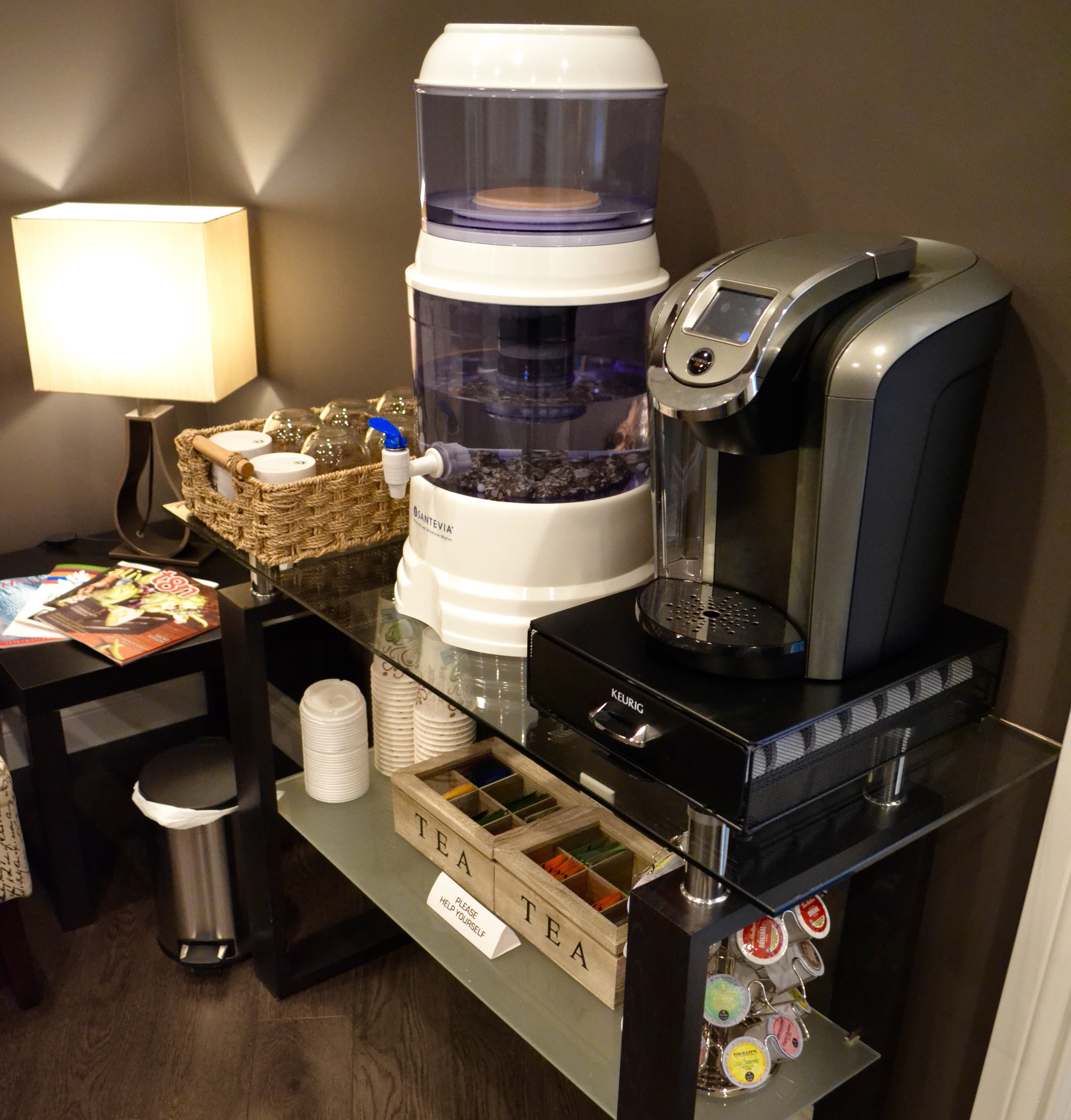Refined Massage Therapy- St. Albert Clinic- Complimentary Beverage (Tea, Coffee, Hot Chocolate, Water)
